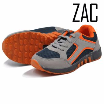 Zac Fashion Sneakers Rubber Shoes for Boys 202 (Grey)