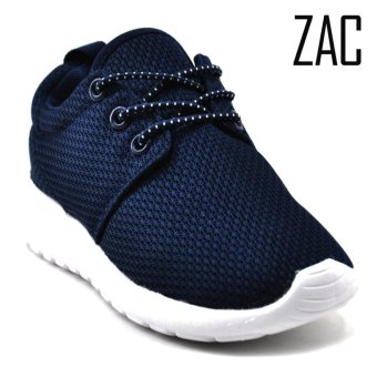 ZAC | FX002-3 Unisex Fashion Slip-On Sneakers Kids Shoes (NavyBlue) - 2