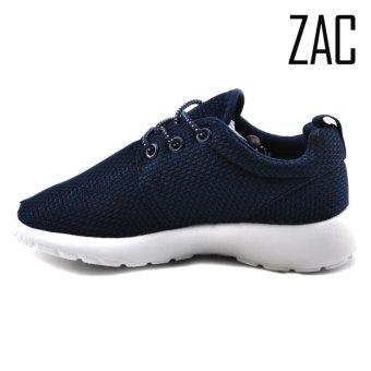 ZAC | FX002-3 Unisex Fashion Slip-On Sneakers Kids Shoes (NavyBlue) - 3
