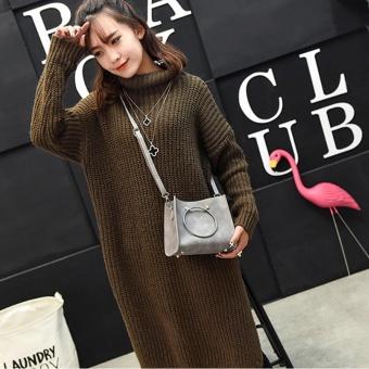 ZAHI FASHION Korean Cross Body Girls Fashion Bag (Gray) - 2