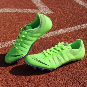 ZANT Track Sports Running Shoes Spike Spikes Athletics TrainingShoes (Green) - intl - 4