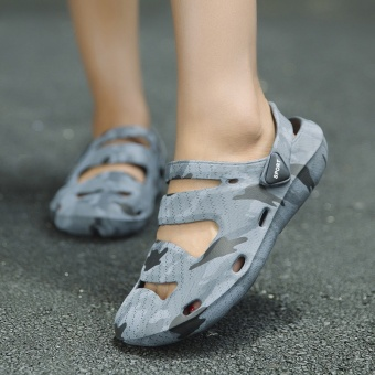 ZNPNXN Couple Sandals Casual Couple Breathable Shoes Comfortable Sandals(Camouflage) - intl - 2