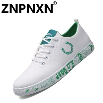 ZNPNXN Men'S Sneakers Comfort Fabric Casual Comfort FlatShoes(Green) - intl Price Philippines