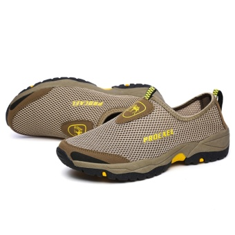ZOQI Man's Fashion Sneakers Net Slip-ons Walking Shoes(Army Green) - intl - 5