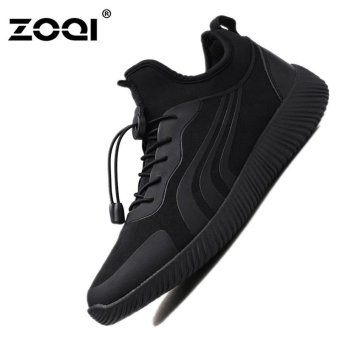 ZOQI Men's Fashion Shoes Sneakers Lightweight net sports shoes(Black) - intl