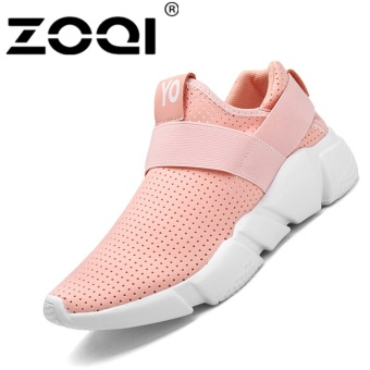 ZOQI Unisex Running Shoes Light Breathable Sneaker Sport Shoes(pink) - intl