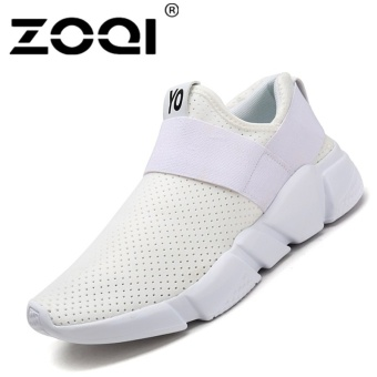 ZOQI Unisex Running Shoes Light Breathable Sneaker SportShoes(white) - intl