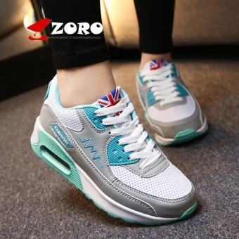 ZORO Women Sneakers Breathable Running Shoes Sport Shoes For Women Outdoor Sneakers Sport Athletic Sneakers Sukan Wanita (Grey) - intl