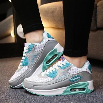 ZORO Women Sneakers Breathable Running Shoes Sport Shoes For Women Outdoor Sneakers Sport Athletic Sneakers Sukan Wanita (Grey) - intl - 2
