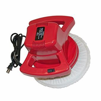 10-Inch Waxer/Polisher Waxing Machine for Car and Home With ExtraBonnets (Red)