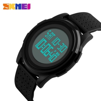 100% Authentic SKMEI 1206 Brand Waterproof Watches Women Lovers Sport Watch With Very Comfortable Soft Band - intl Price Philippines
