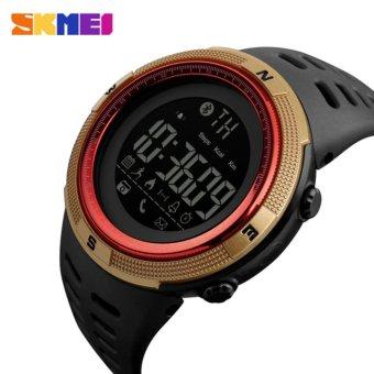 [100% Genuine]2017 NEW Men's Smart Sport Watch New SKMEI BrandBluetooth Calorie Pedometer Fashion Watches Men 50M WaterproofDigital Clock Wristwatch 1250 - intl - 5