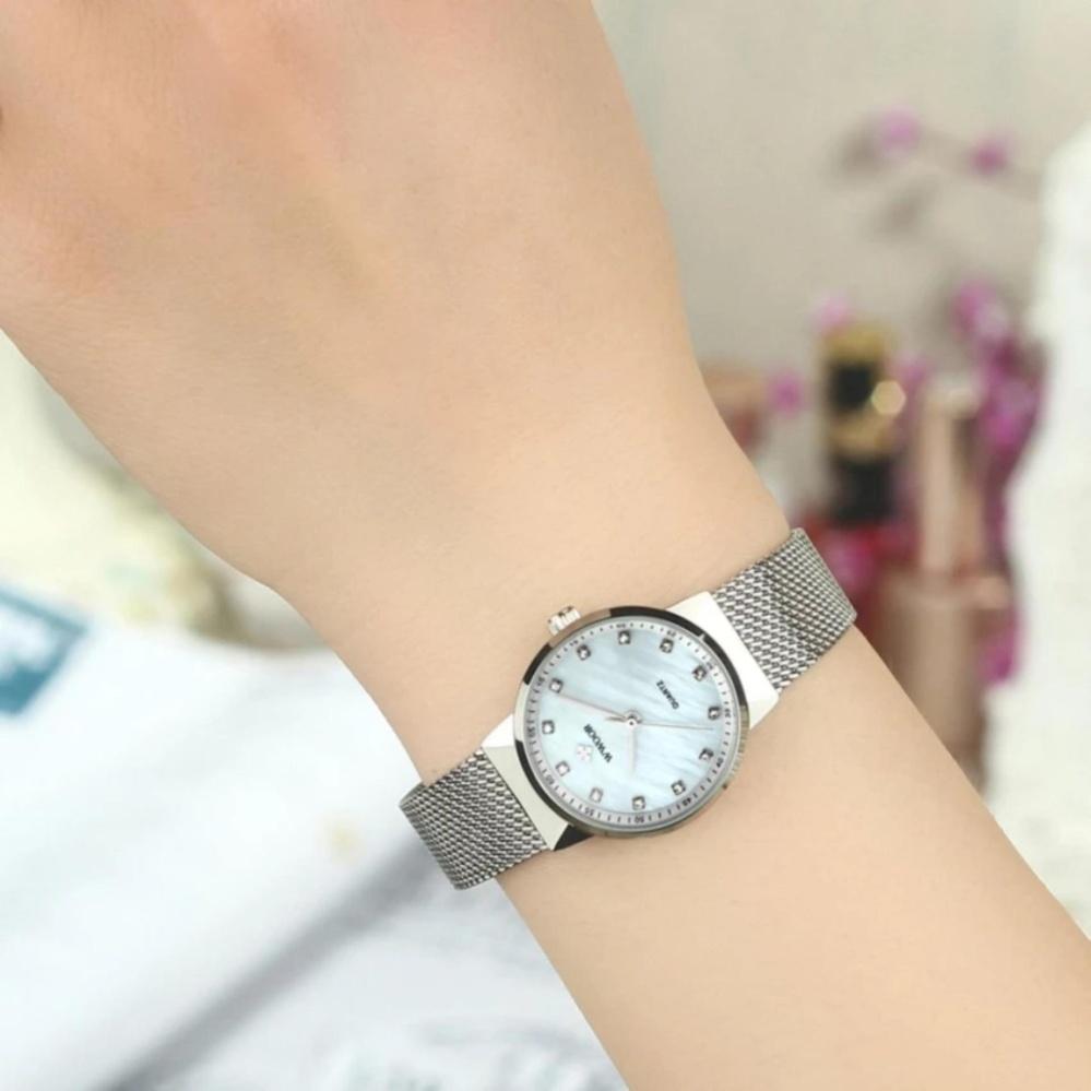 ... [100% Genuine]WWOOR Waterproof Quartz Watch Women's Watches BrandLuxury Diamonds Casual Wrist Watch ...