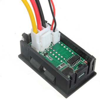 100V 100A DC Car Auto Digital Voltmeter Ammeter LED Amp Volt Meter 12V w/shunt - 3