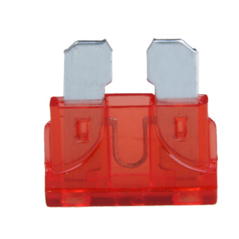 10pcs 5A Middle Fuse Holder with Cable for Car Boat Truck ATC/ATO Blade (Red)
