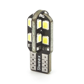 10pcs/Lot T10 LED 16-2835 SMD White Lights 6500K 12V W5W 194 168Bulb for Car License Plate Door Dome Reading Side Marker Lamp -intl