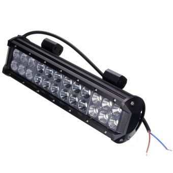 12inch 72W Cree 24 LED Work Light Bar Combo Beam Lamp Spot Flood Offroad SUV 4WD