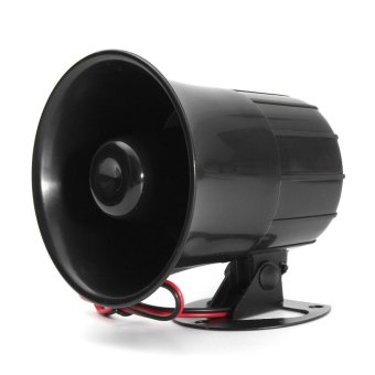 12V 15W Car Truck Air Electric Siren Horn Speaker Auto Van PA Loud Sound Alarm - intl