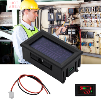 12V 24V Acid Lead Battery Voltage Dual LED Display Pannel MeterVoltmeter MA395 Price Philippines