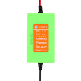 12V 2A Voltage Rechargeable Battery Power Charger 220V AC forMotorcycle Green (Intl) - 5