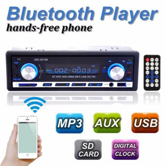 12V Bluetooth Car Stereo Mp3 Player USB/SD AUX Audio Player 1 DIN In-Dash Radio JSD-20158 - intl Price Philippines