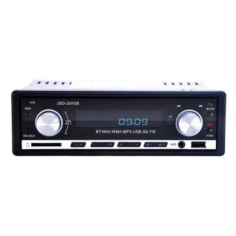12V Car Stereo FM Radio MP3 Audio Player Support Bluetooth Phone