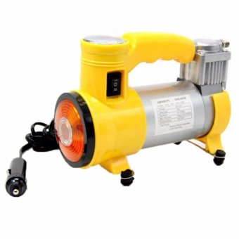 12V150PSI Portable electric air compressor car inflator pump (Yellow)