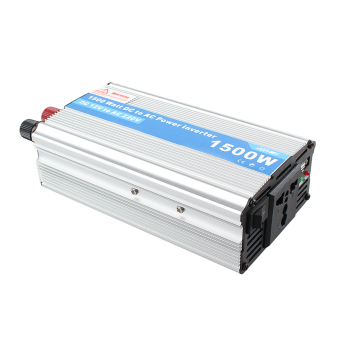 1500W Power Inverter Adapter DC 12V to AC 220V For Car Refrigerator/TV/Camera