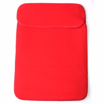 15.6 Double Faced Laptop Pouch Sleeve Red