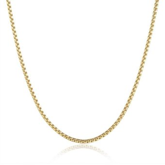 18k Gold Plated Long Chain Necklace - intl