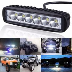 Buy sell cheapest led light bar best quality product deals 18w 6led 12 24v straight motorcycle led bar offroad 4x4 atv daytime running lights truck mozeypictures Choice Image