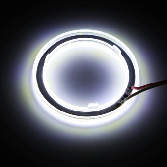 1pair Auto Halo Rings Headlight Angel Eye LED For Motorcycle Car60mm - intl