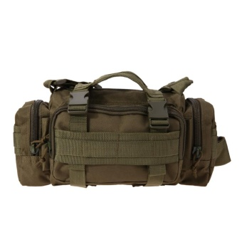 1pc Military Tactical Backpack Mochilas Molle Camping Hiking WaistBag(Army Green) - intl