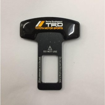 1Pc TRD Black Seat Belt Warning Canceler (TRD)