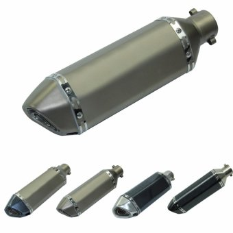 1PC Universal Motorcycle 38-51MM Exhaust Muffler Pipe With Removable DB Killer - intl - 4