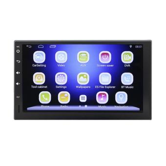 2 din 7 inch Android 4.4.4 car DVD player HD Touch Screen1080P+Carema - intl Price Philippines