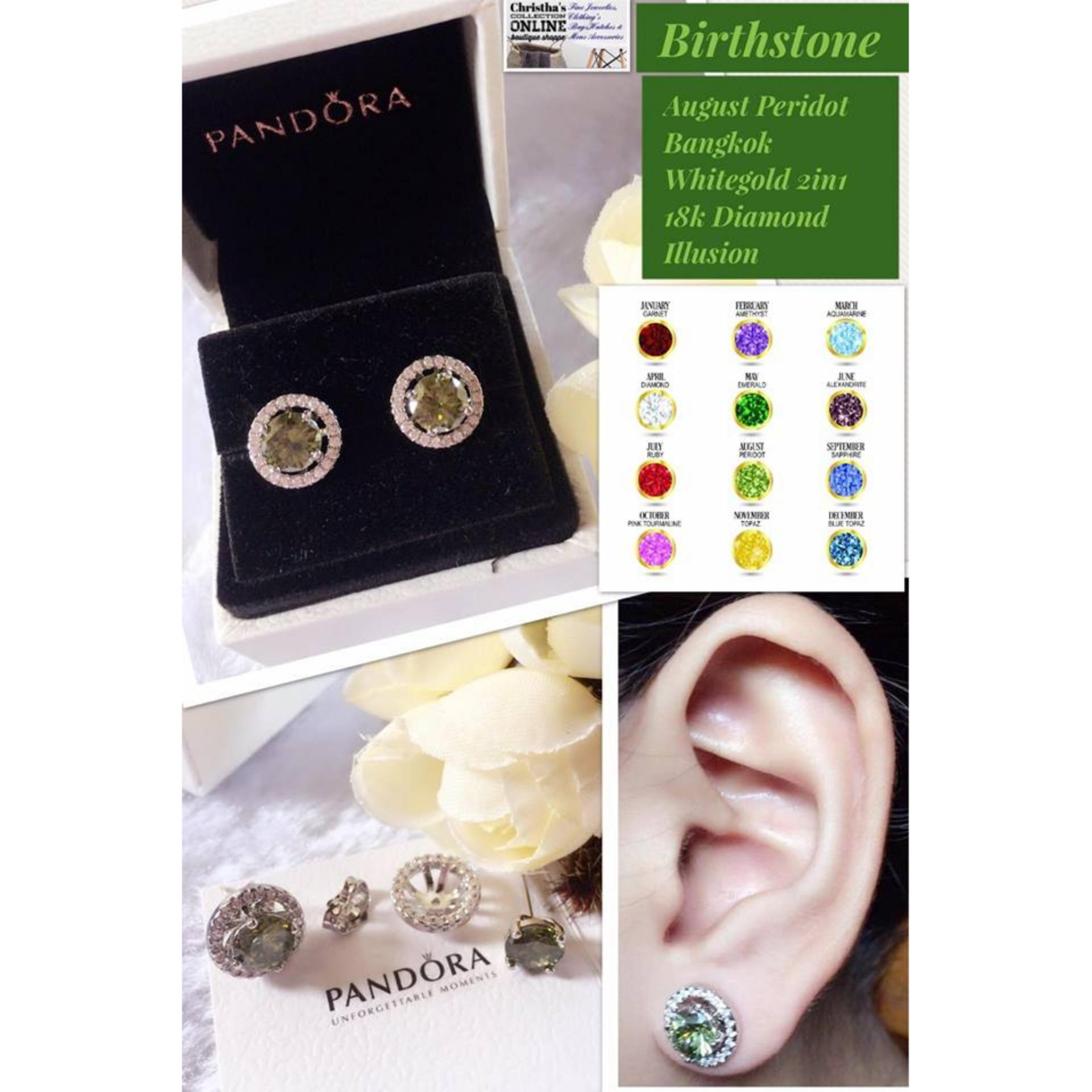 0ca5c25b89e3d uk pandora earrings peridot gemstone 6afcc 49de5