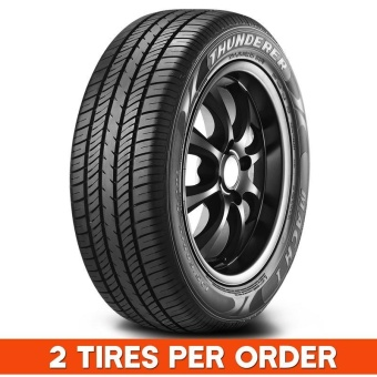 2 pieces Quality Tires Thunderer 175/65R14for Vios, Getz, Yaris, etc