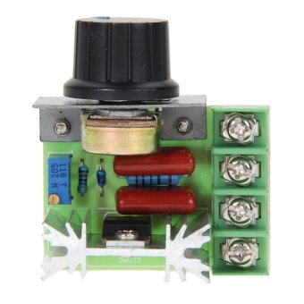 2000W SCR Electronic Voltage Regulator Speed Controller DimmerThermostat - intl