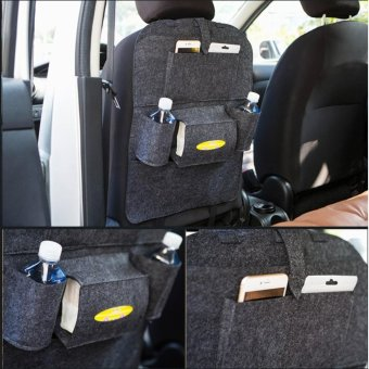 200g Blankets Storage Stuffing Bag For Car Multi - Functional Seats- intl