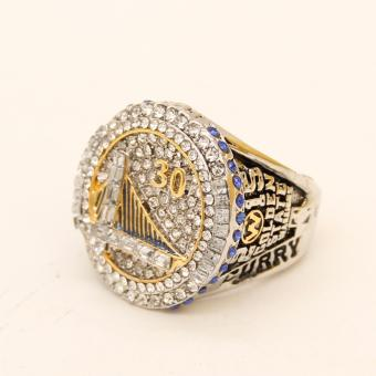 2015 NBA Golden State Warriors Round Basketball Stephen Curry Championship Ring for Fans Gift - intl