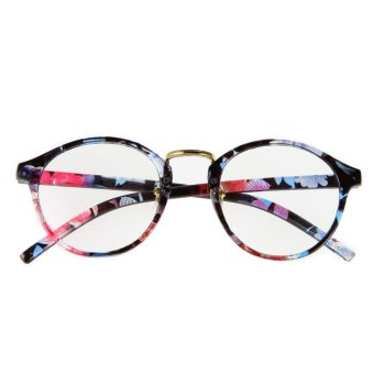 2017 Fashion Eyeglasses Frame Optical Reading Eye plain Glasses Coloured - intl