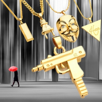 Where to buy 2017 mens new punk mask plug pendants necklace gold where to buy 2017 mens new punk mask plug pendants necklace gold silver bar hiphop jewelry gold intl in philippines april 2018 aloadofball Gallery