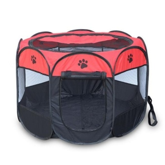 2017 New Portable Folding Pet Tent Play Pen Dog Sleeping Fence Puppy Kennel Folding Exercise Play Foldable Pet Dog House Outdoor - intl Price Philippines