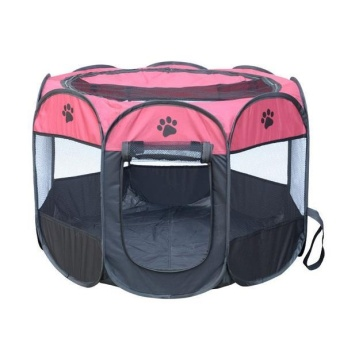 2017 New Portable Folding Pet Tent Play Pen Dog Sleeping FencePuppy Kennel Folding Exercise Play Foldable Pet Dog House Outdoor -intl Price Philippines