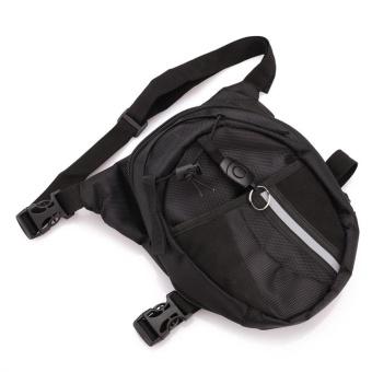 2017 new style Men Pack Waterproof Motorcycle Riding Rider Messenger Waist Bag Drop Leg Bags - intl - 4