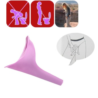2017 new style Women Portable Toilet Female Urinal Hiking Travelling Festival Urination Device - intl - 2