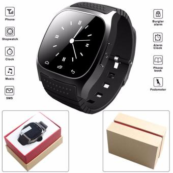 2017 Smart Watch AndroId Smart Watch M26 Bluetooth V4.0 Sync Wearable Devices Connect for IOS Android Phone - intl