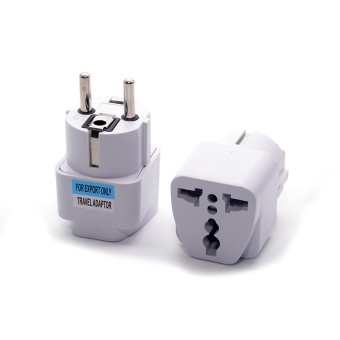 2017 Universal EU South Korea Plug Adapter Converter US AU UK ToEuropean KR AC Travel Power Electrical Socket Outlets Wholesale -intl