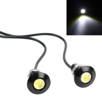 23mm 9W DRL Car Turn Signal Lights DC 12V Auto Lamps Eagle EyeLight Car Backup Lights - intl